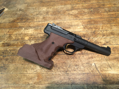 Buck Mark Buckmark custom target pistol grip