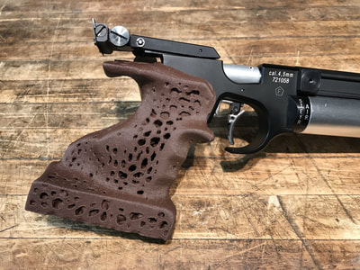 Styer LP10 air pistol custom grip