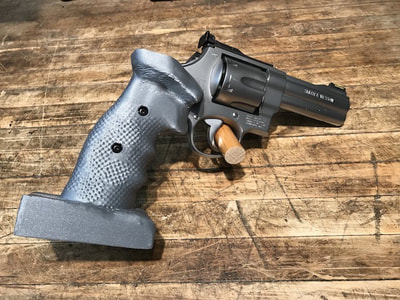 Smith Wesson revolver N-frame custom grip