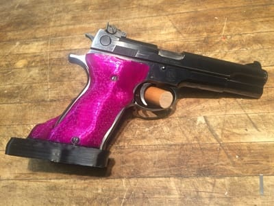 Smith Wesson 52 custom target pistol grip
